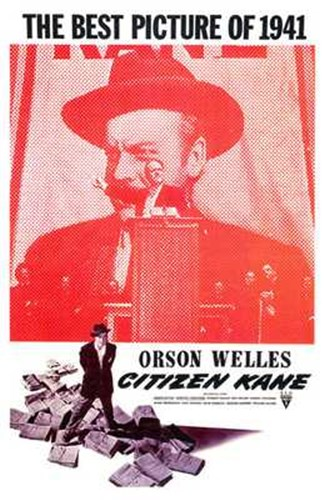 Citizen Kane Best Picture of 1941 Poster by Unknown for $26.25 CAD