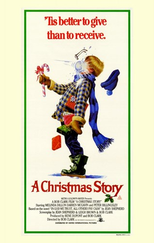 A Christmas Story Bob Clark Film Poster by Unknown for $26.25 CAD