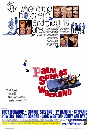 Palm Springs Weekend Poster by Unknown for $26.25 CAD