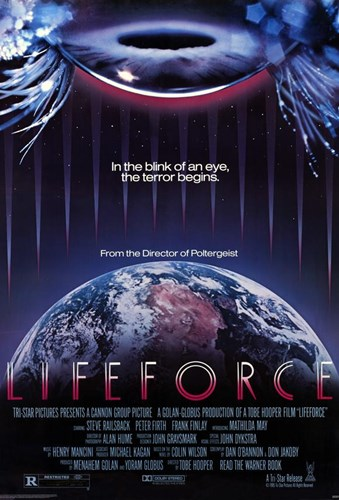 Lifeforce Poster by Unknown for $26.25 CAD