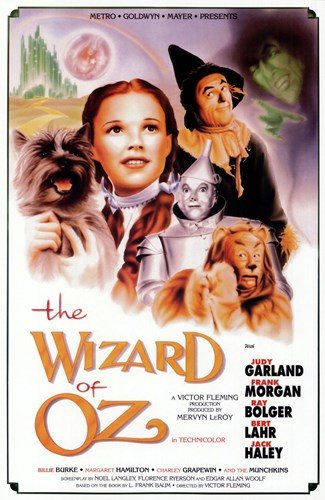 The Wizard of Oz Actors Poster by Unknown for $26.25 CAD