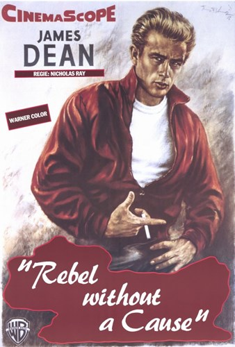 Rebel Without a Cause Smoking Poster by Unknown for $26.25 CAD