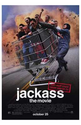 Jackass: the Movie Poster by Unknown for $26.25 CAD