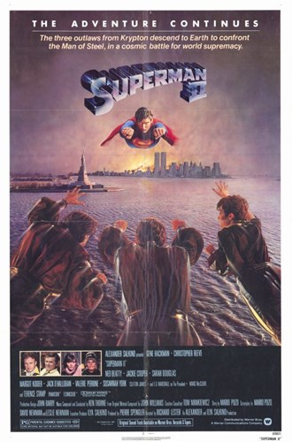Superman 2 Flying Above River Poster by Unknown for $26.25 CAD