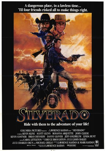 Silverado - Ride with them to the adventure of your life Poster by Unknown for $26.25 CAD