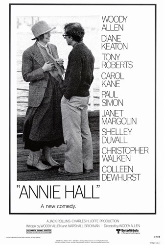 Annie Hall Woody Allen Diane Keaton Poster by Unknown for $26.25 CAD