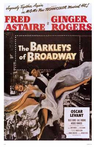 Barkleys of Broadway The Poster by Unknown for $26.25 CAD