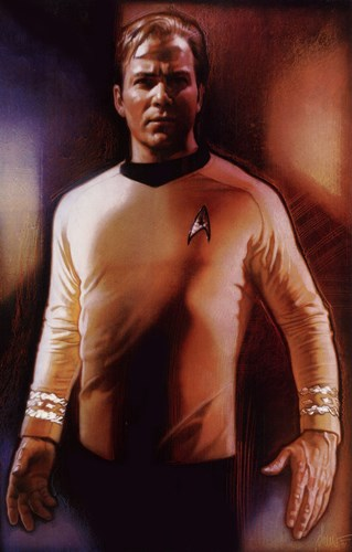 Star Trek - Captain Kirk Poster by Unknown for $26.25 CAD