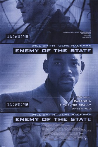 Enemy of the State Poster by Unknown for $26.25 CAD