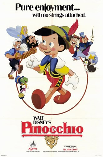 Pinocchio Poster by Unknown for $26.25 CAD