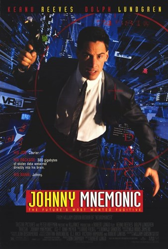 Johnny Mnemonic Poster by Unknown for $26.25 CAD