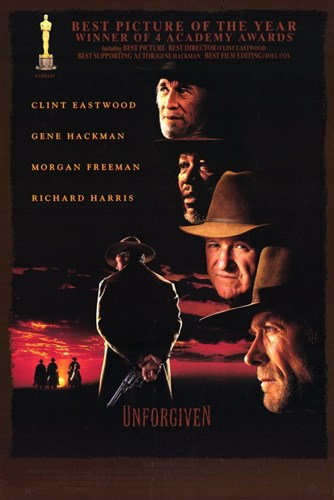 Unforgiven - faces Poster by Unknown for $26.25 CAD