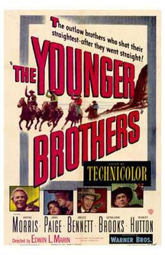 The Younger Brothers Poster by Unknown for $26.25 CAD