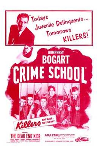 Crime School Poster by Unknown for $26.25 CAD