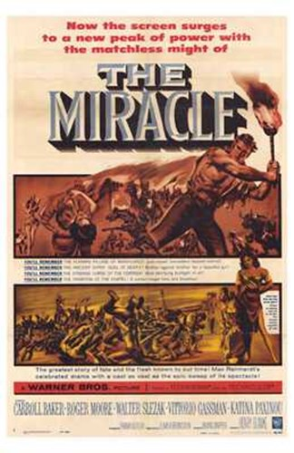 The Miracle Poster by Unknown for $26.25 CAD
