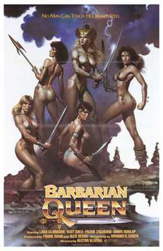 Barbarian Queen, c.1985 Poster by Unknown for $26.25 CAD