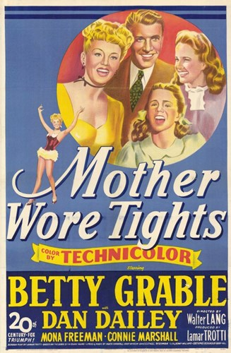 Mother Wore Tights Poster by Unknown for $26.25 CAD