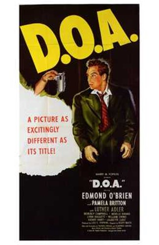Doa Edmond OBrien Poster by Unknown for $26.25 CAD
