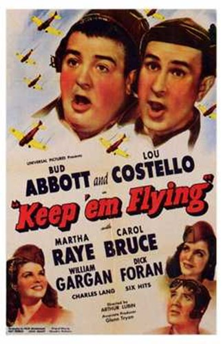 Abbott and Costello, Keep 'Em Flying, c.1941 Poster by Unknown for $26.25 CAD