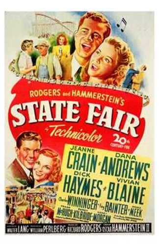 State Fair - movie Poster by Unknown for $26.25 CAD