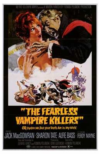 Fearless Vampire Killers Poster by Unknown for $26.25 CAD