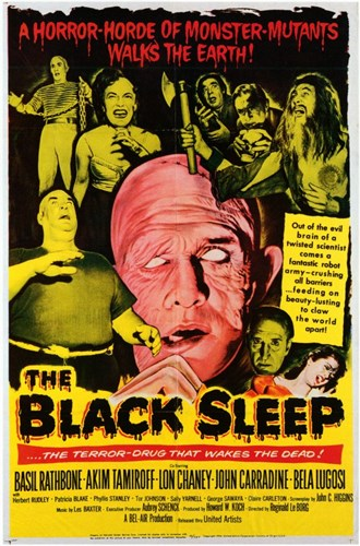 Black Sleep Poster by Unknown for $26.25 CAD