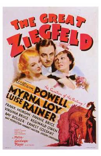 The Great Ziegfeld Poster by Unknown for $26.25 CAD