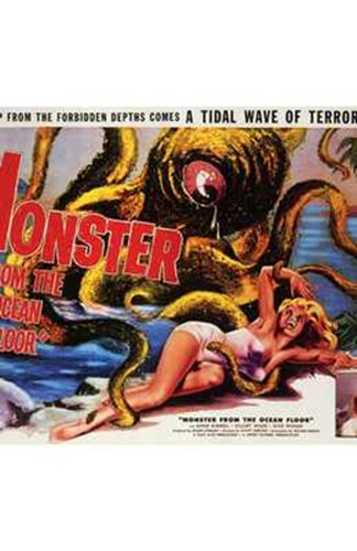 Monster from the Ocean Floor Poster by Unknown for $26.25 CAD