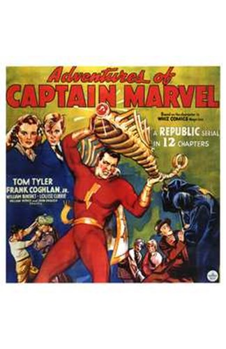 Adventures of Captain Marvel - style C Poster by Unknown for $26.25 CAD