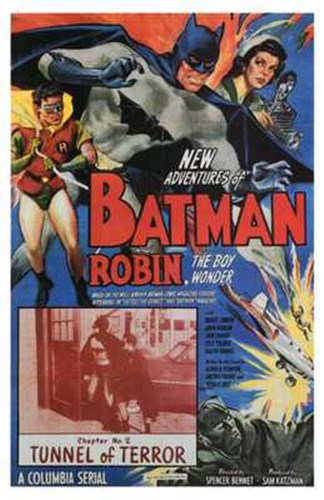 Batman and Robin Tunnel of Terror Poster by Unknown for $26.25 CAD