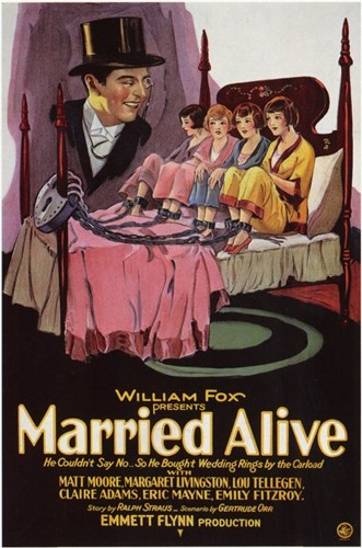 Married Alive Poster by Unknown for $26.25 CAD