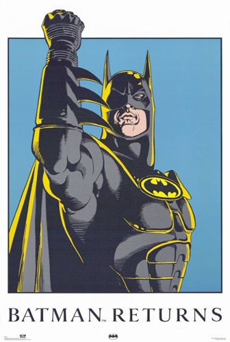 Batman Returns Comic Close Up Poster by Unknown for $26.25 CAD