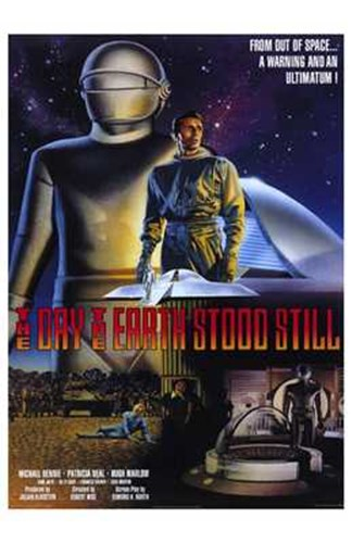 The Day the Earth Stood Still Scenes Poster by Unknown for $26.25 CAD
