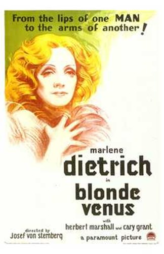 Blonde Venus Poster by Unknown for $26.25 CAD