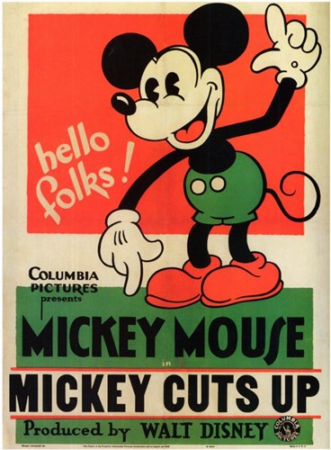 Mickey Cuts Up Poster by Unknown for $26.25 CAD