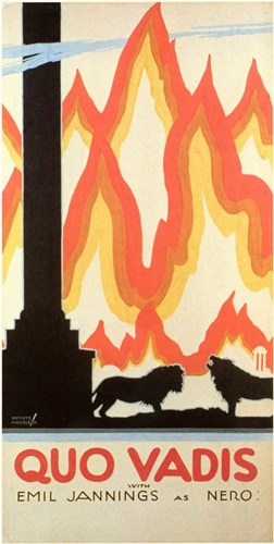 Quo Vadis - fire Poster by Unknown for $26.25 CAD