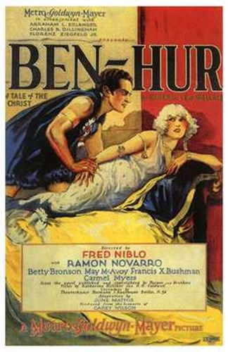 Ben Hur Vintage Poster by Unknown for $26.25 CAD