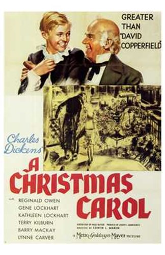 A Christmas Carol Poster by Unknown for $26.25 CAD