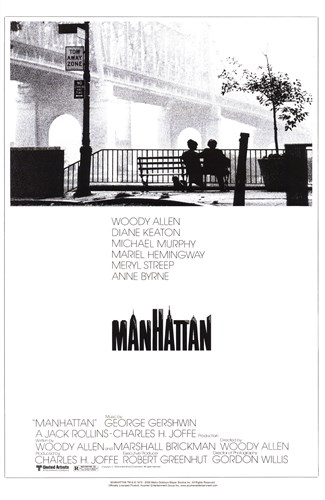 Manhattan - couple on a bench Poster by Unknown for $26.25 CAD