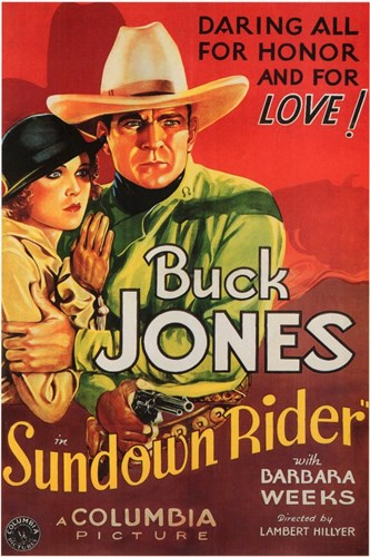 Sundown Rider Poster by Unknown for $26.25 CAD