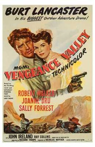 Vengeance Valley Poster by Unknown for $26.25 CAD