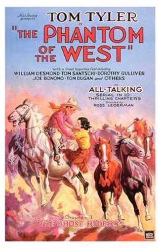 Phantom of the West Leaping Horses Poster by Unknown for $26.25 CAD