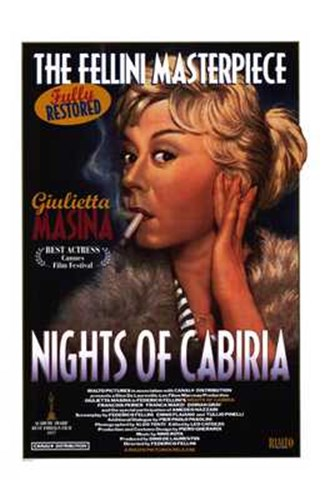 Nights of Cabiria (1987) Poster by Unknown for $26.25 CAD