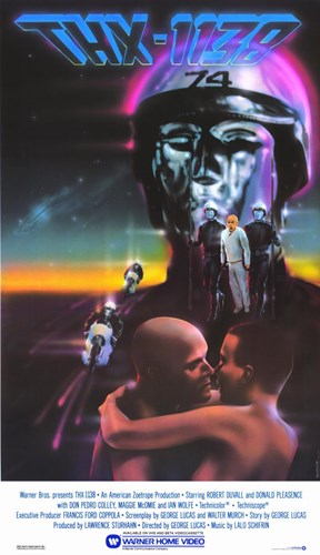 Thx-1138 Poster by Unknown for $26.25 CAD