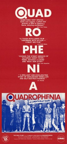 Quadrophenia Film Poster by Unknown for $26.25 CAD