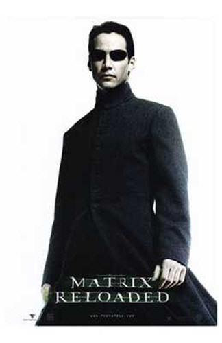The Matrix Reloaded Keanu Reeves as Neo Poster by Unknown for $26.25 CAD