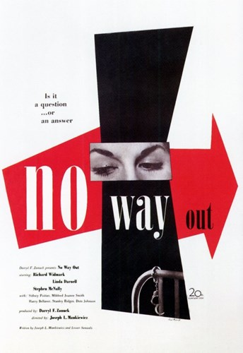 No Way Out Poster by Unknown for $26.25 CAD