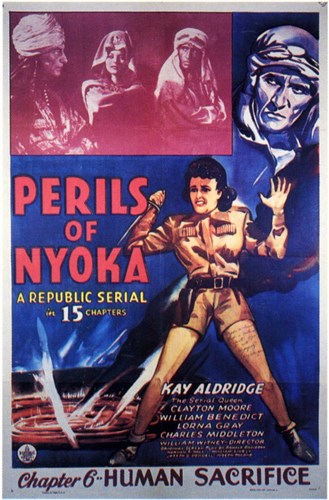 Perils of Nyoka Chapter 6 Poster by Unknown for $26.25 CAD