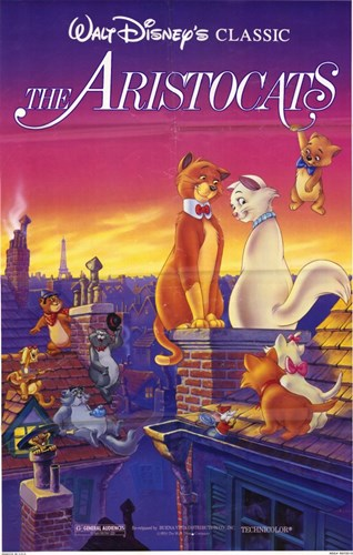 Aristocats Poster by Unknown for $26.25 CAD