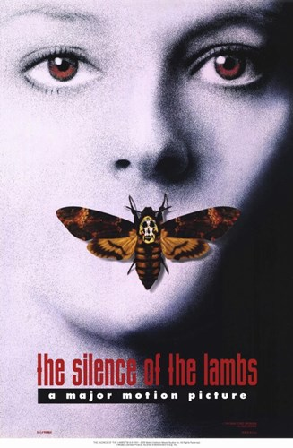 Silence of the Lambs - a major motion picture Poster by Unknown for $26.25 CAD